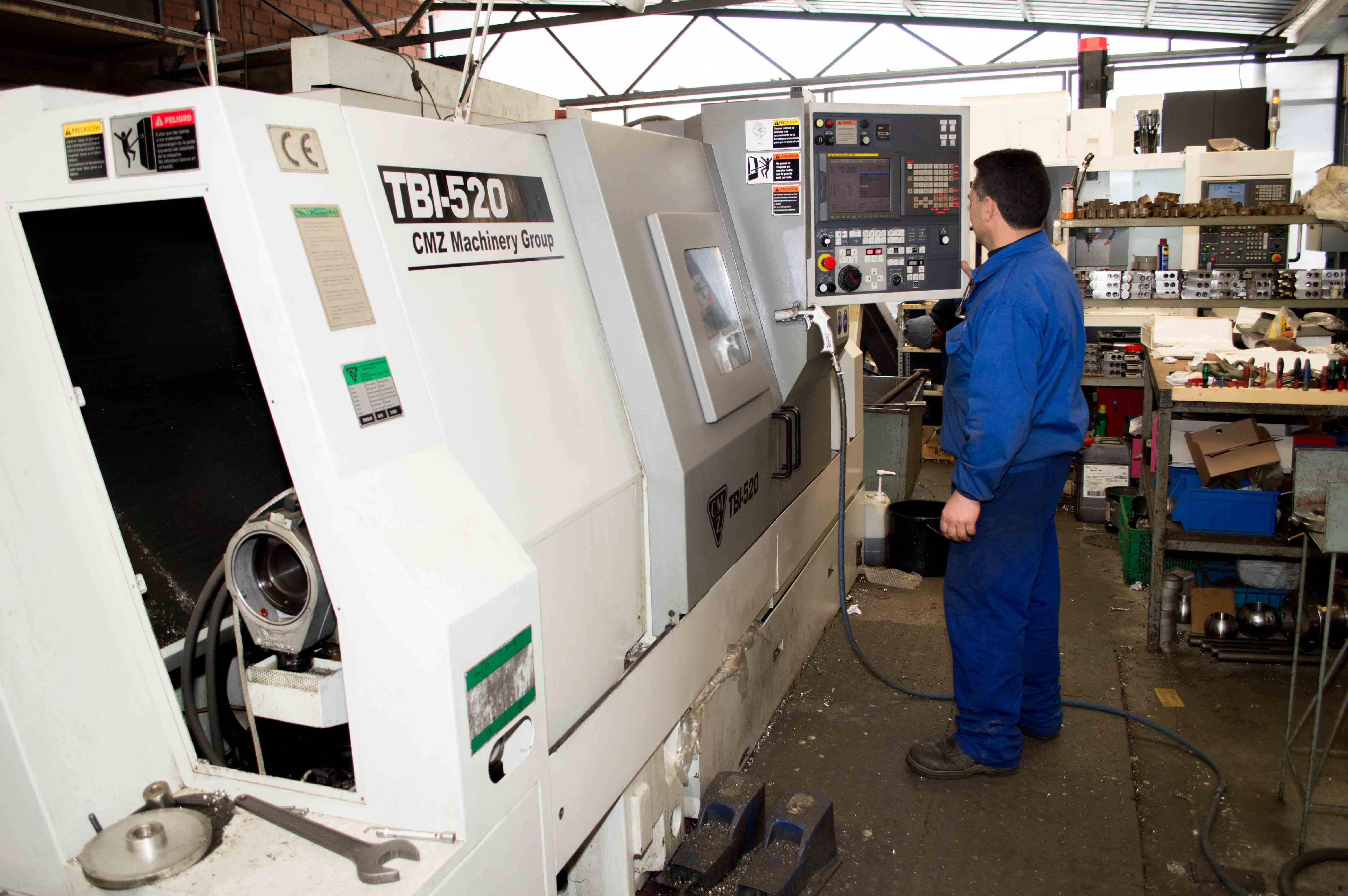 Ventajas de las máquinas CNC