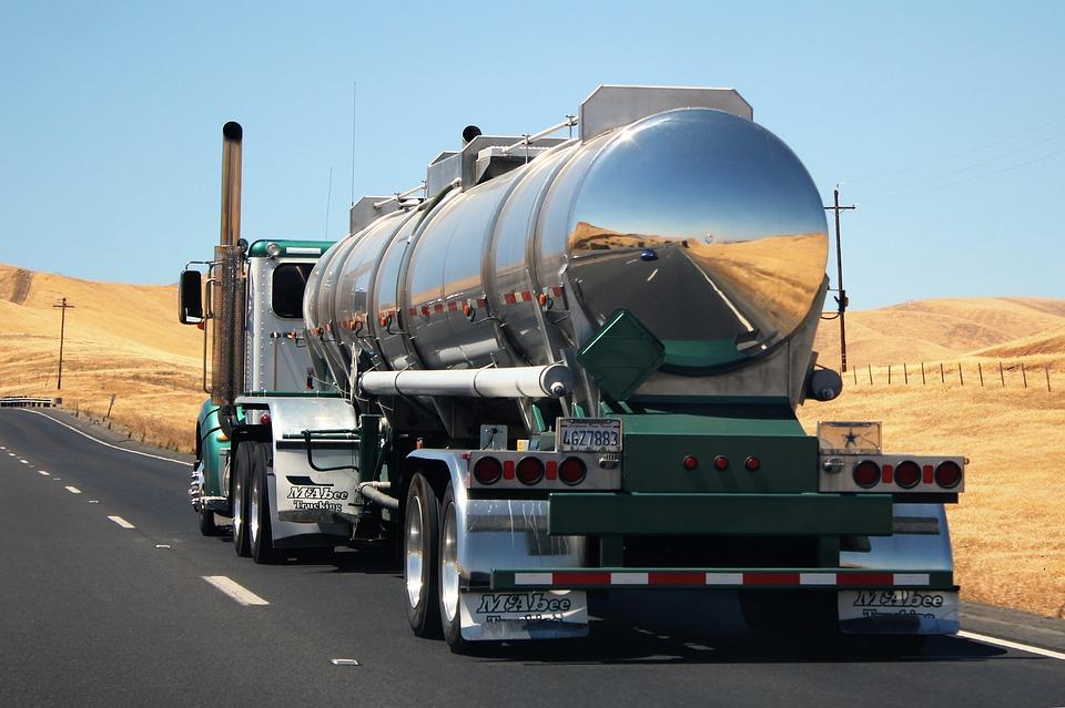 Camiones con mayor carga de transporte a la vista