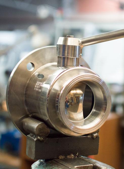Fabricación de válvulas acero inoxidable