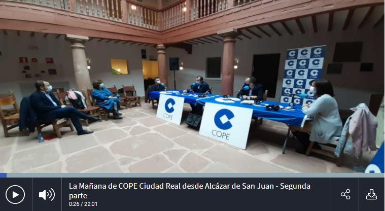 Valnicrom en «La Mañana de COPE Ciudad Real»